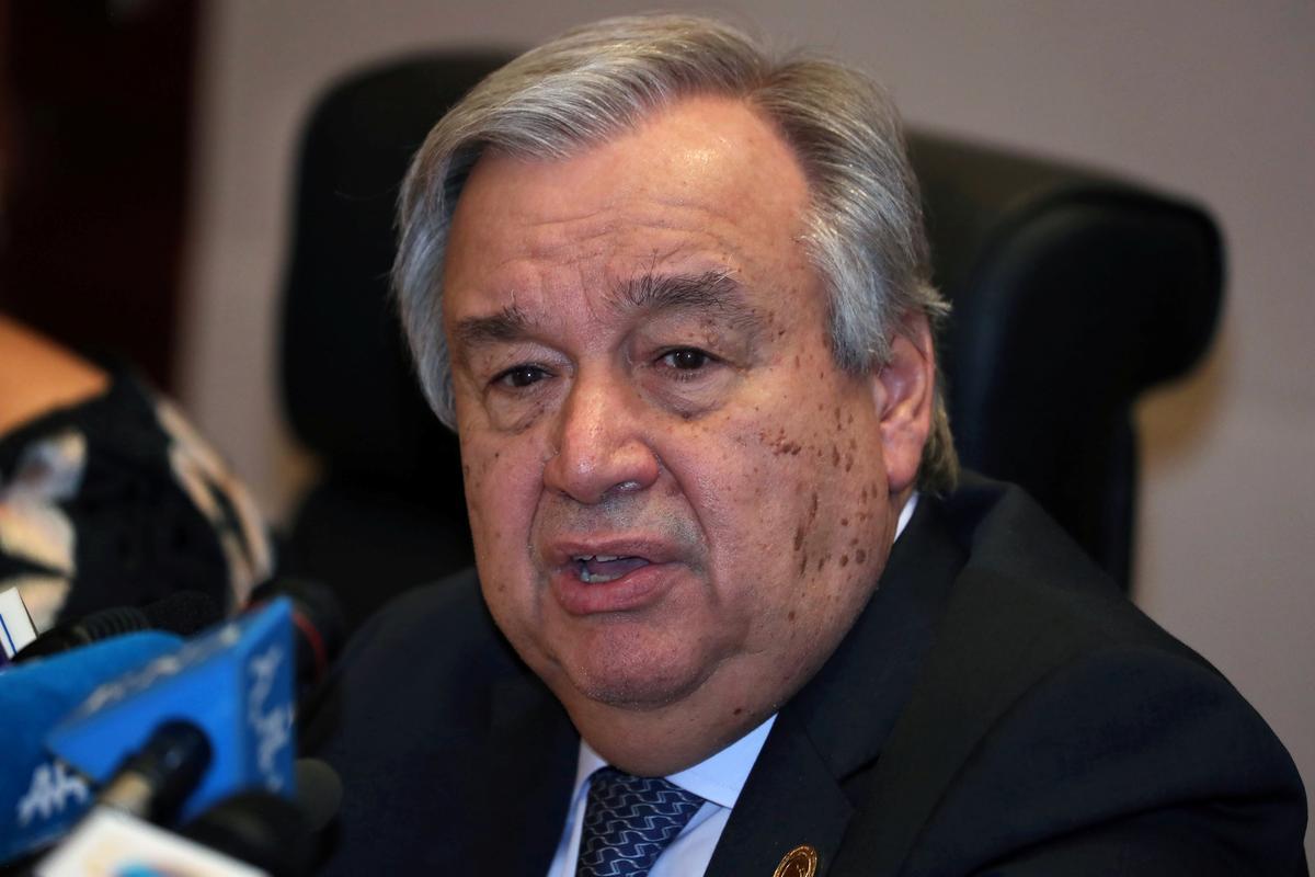 U.N. chief clear that Golan status has not changed: spokesman