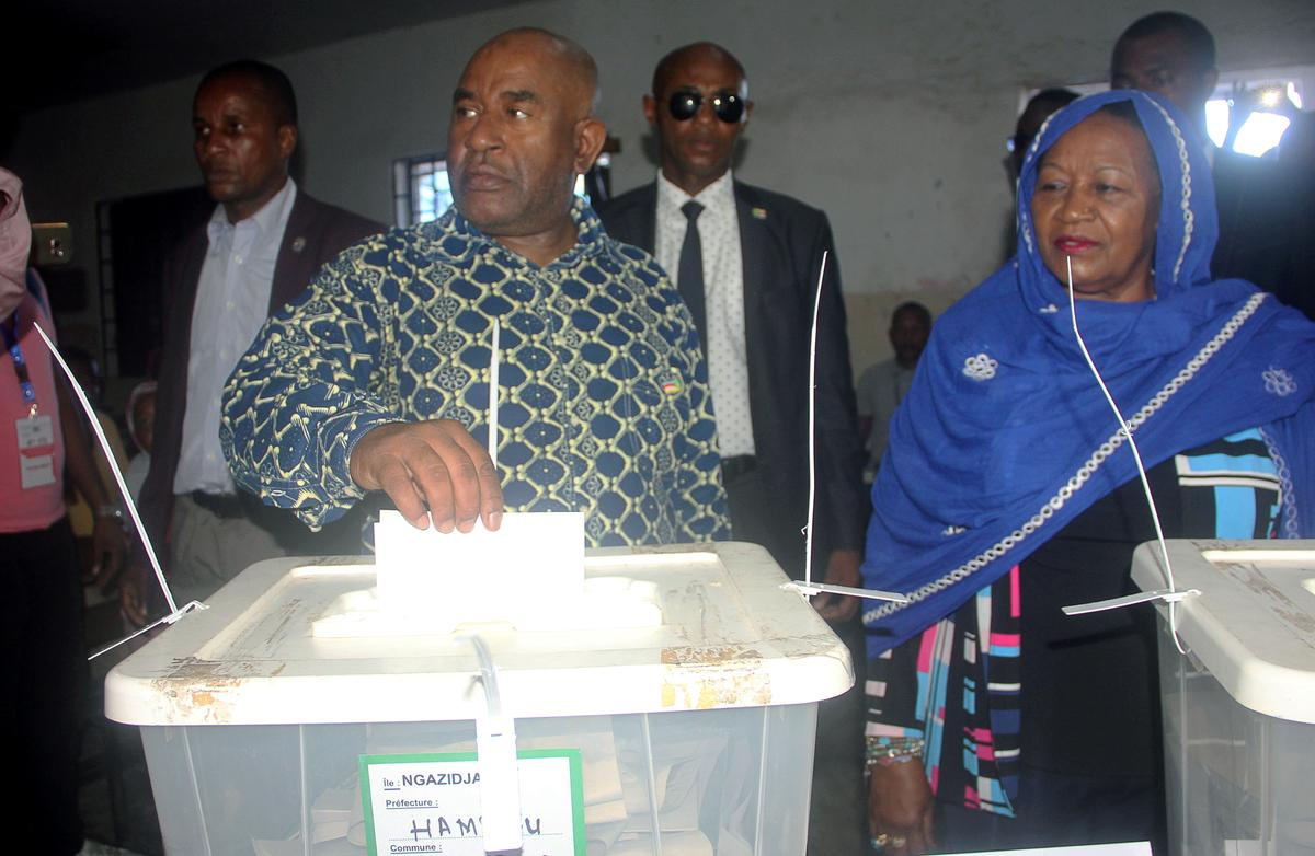 Comoros president named winner in election rejected by ...