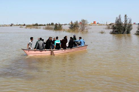 Deadly flooding in Iran