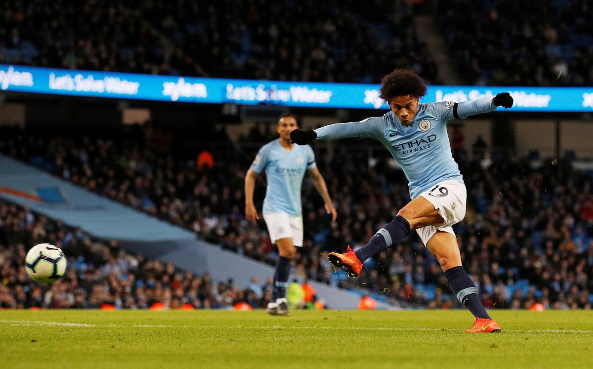 Soccer: City in command at the top after win over Cardiff
