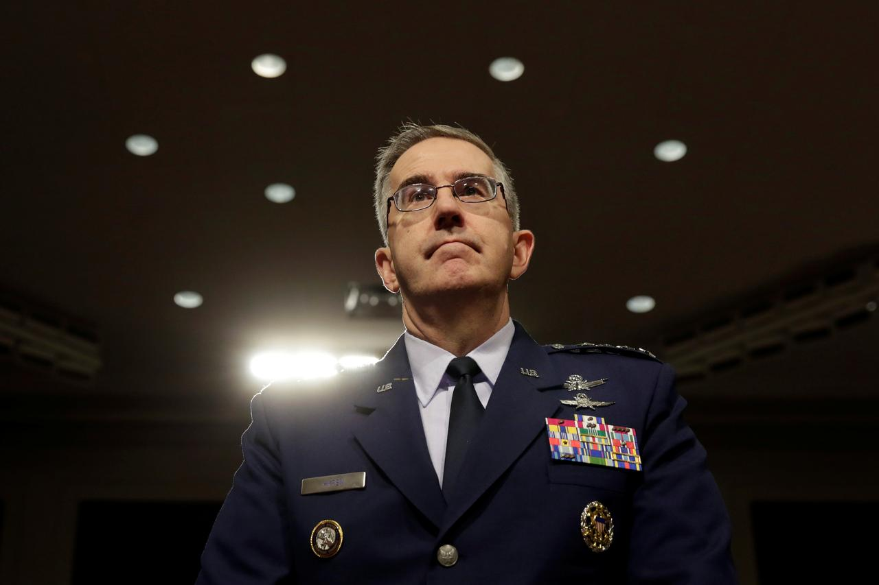 U S  Air Force General Hyten nominated to be next vice chairman of