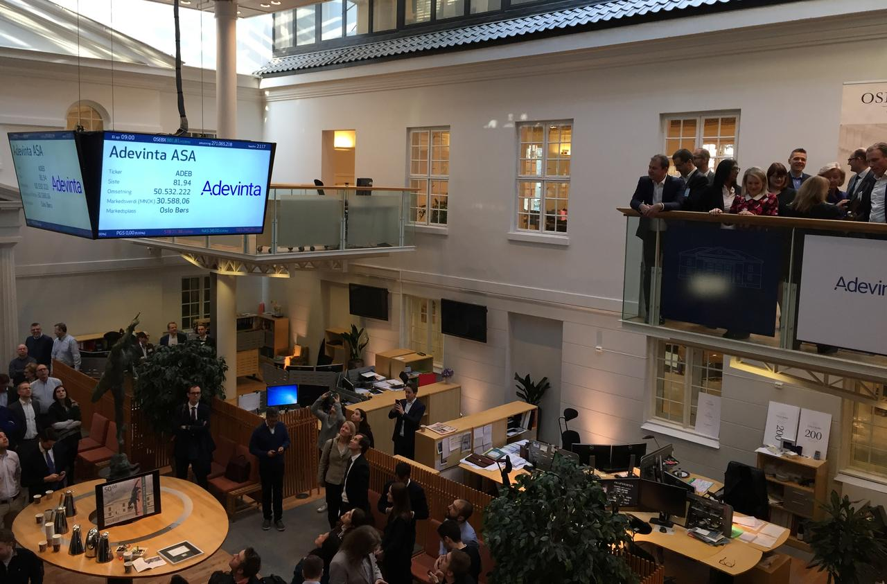 Online ad firm Adevinta up 13 percent in Oslo's most