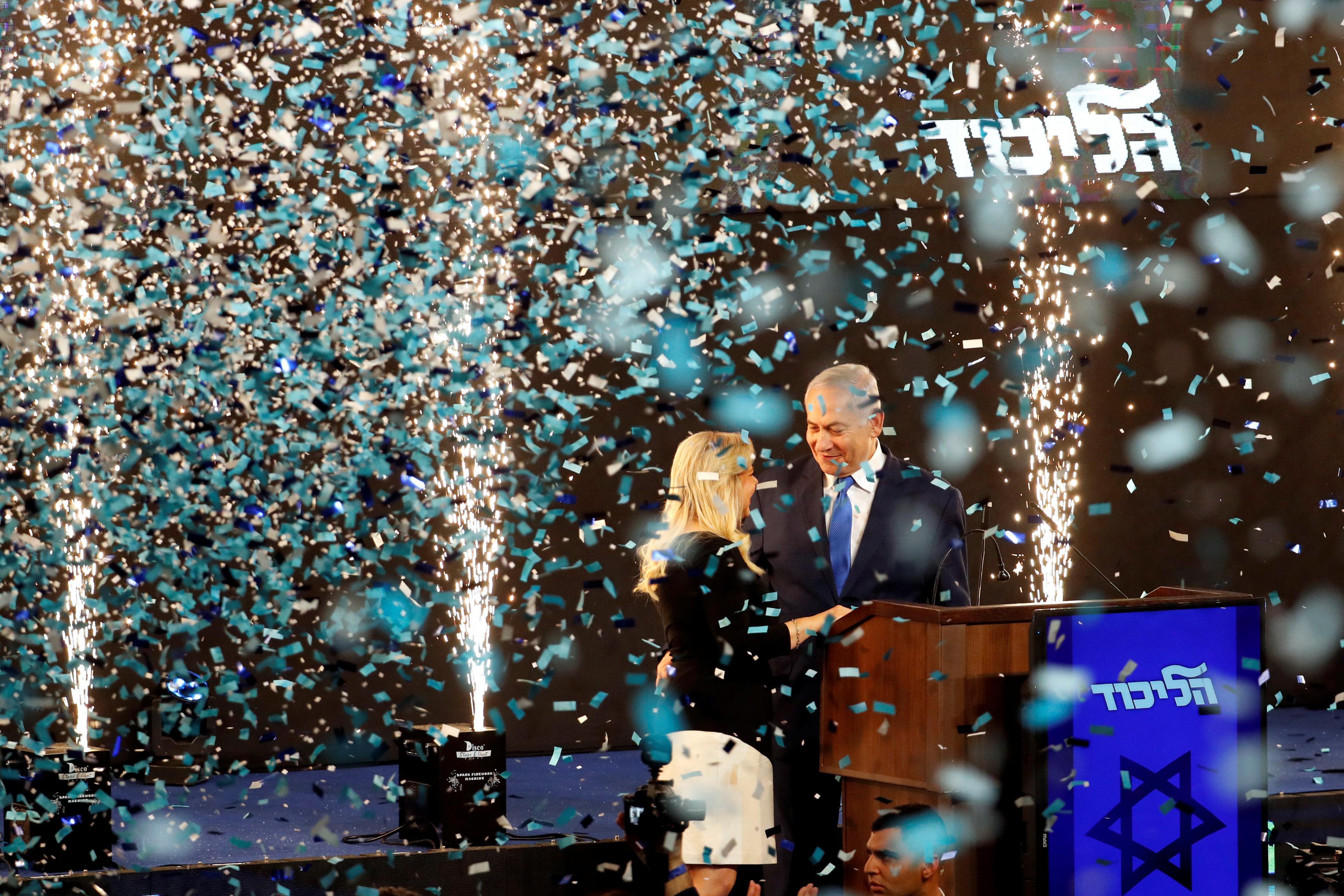 Israel's Netanyahu secures election victory: Israeli TV channels