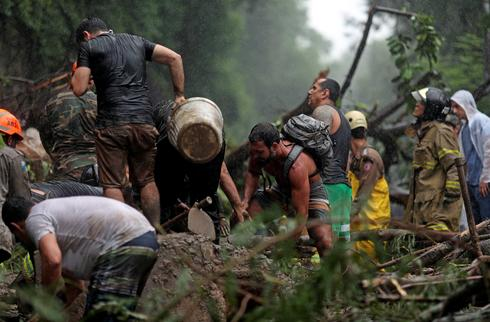 Deadly rains lash Rio de Janeiro