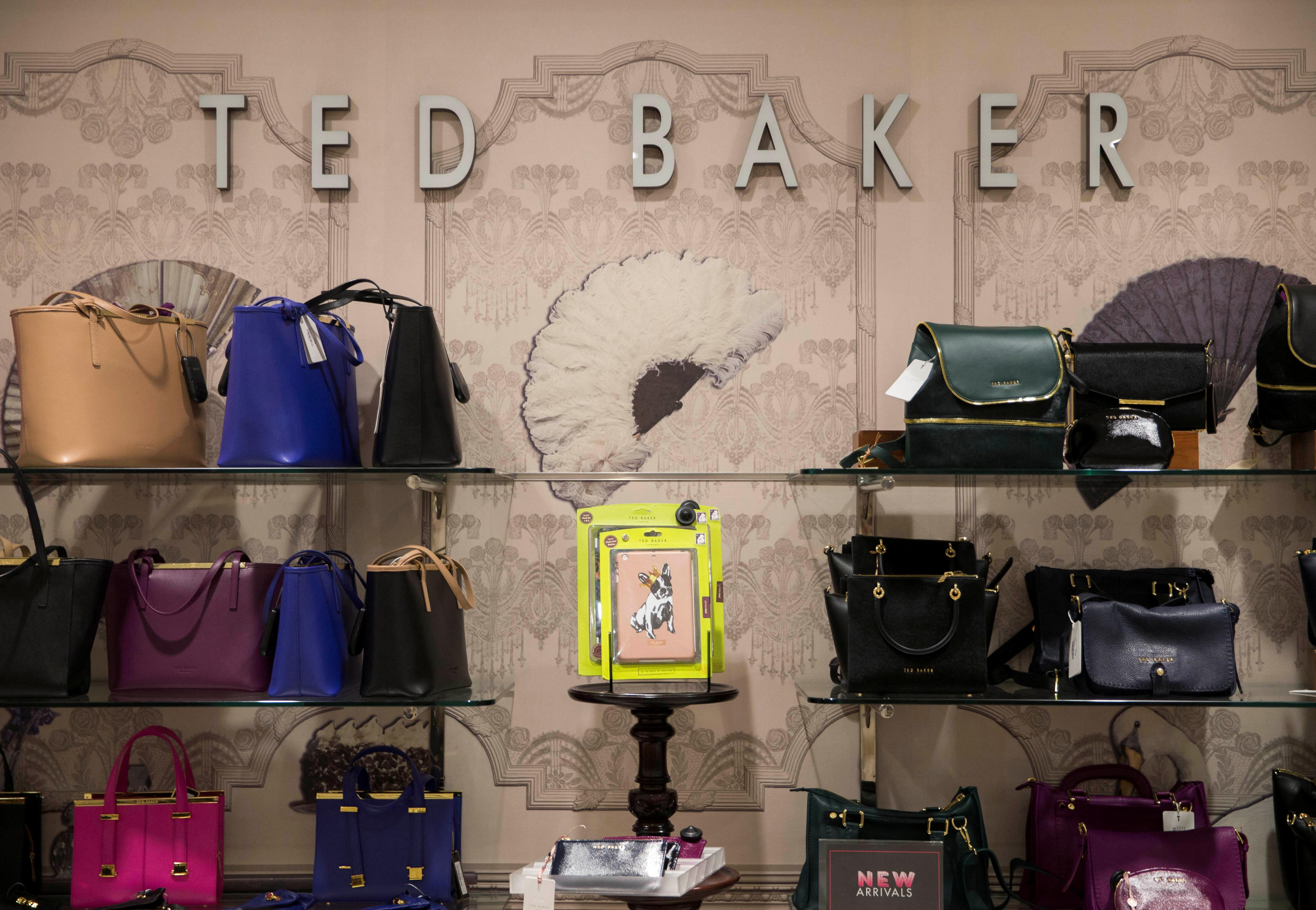 86942d5df Ted Baker names insider as boss after founder quits over  hugging ...