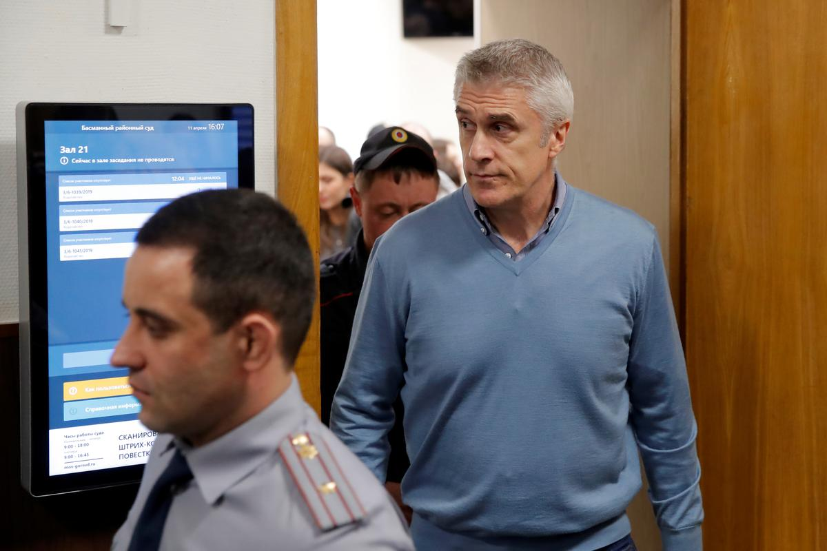 Russian court lets U.S. investor Calvey out of jail