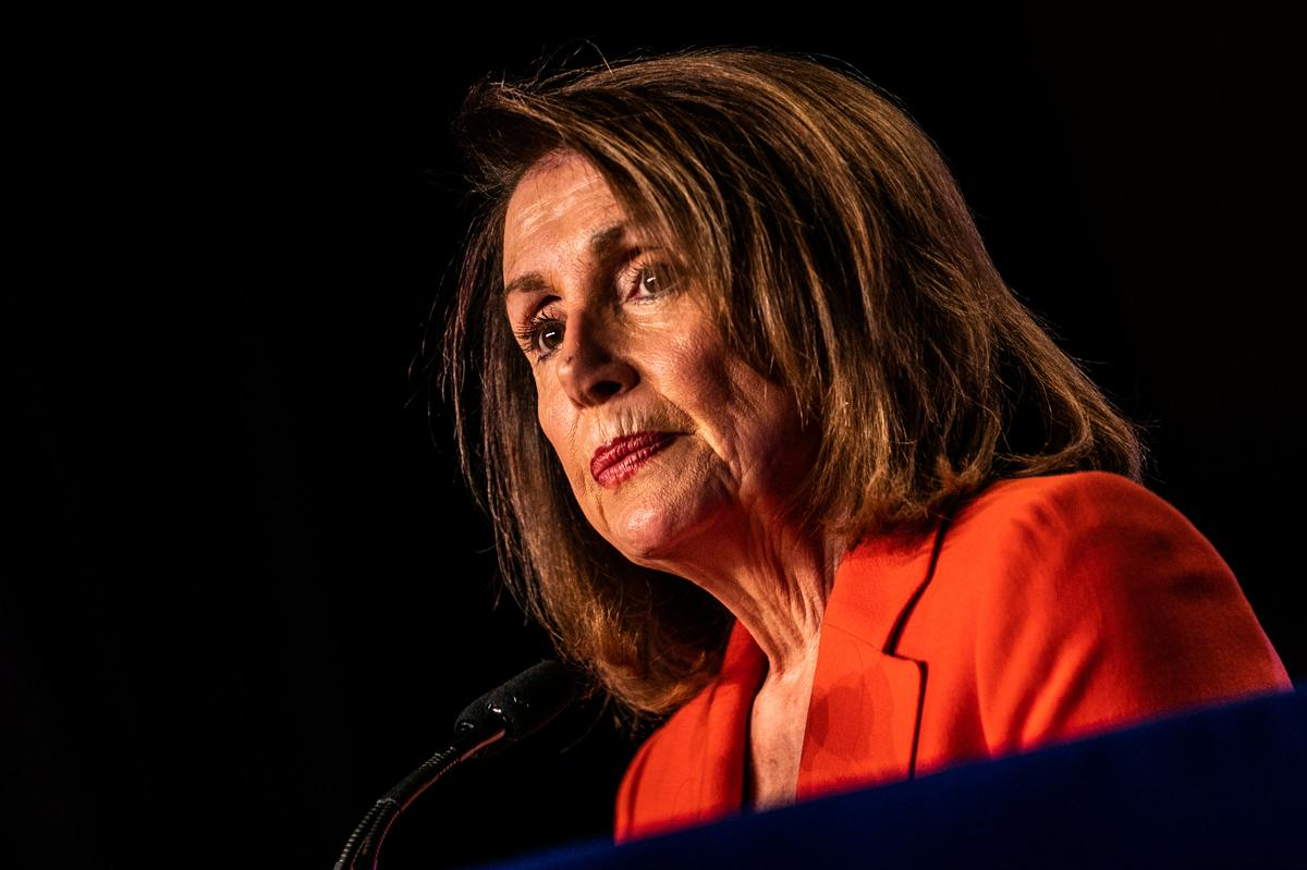Pelosi hits Trump over use of 9/11 images to criticize Muslim lawmaker