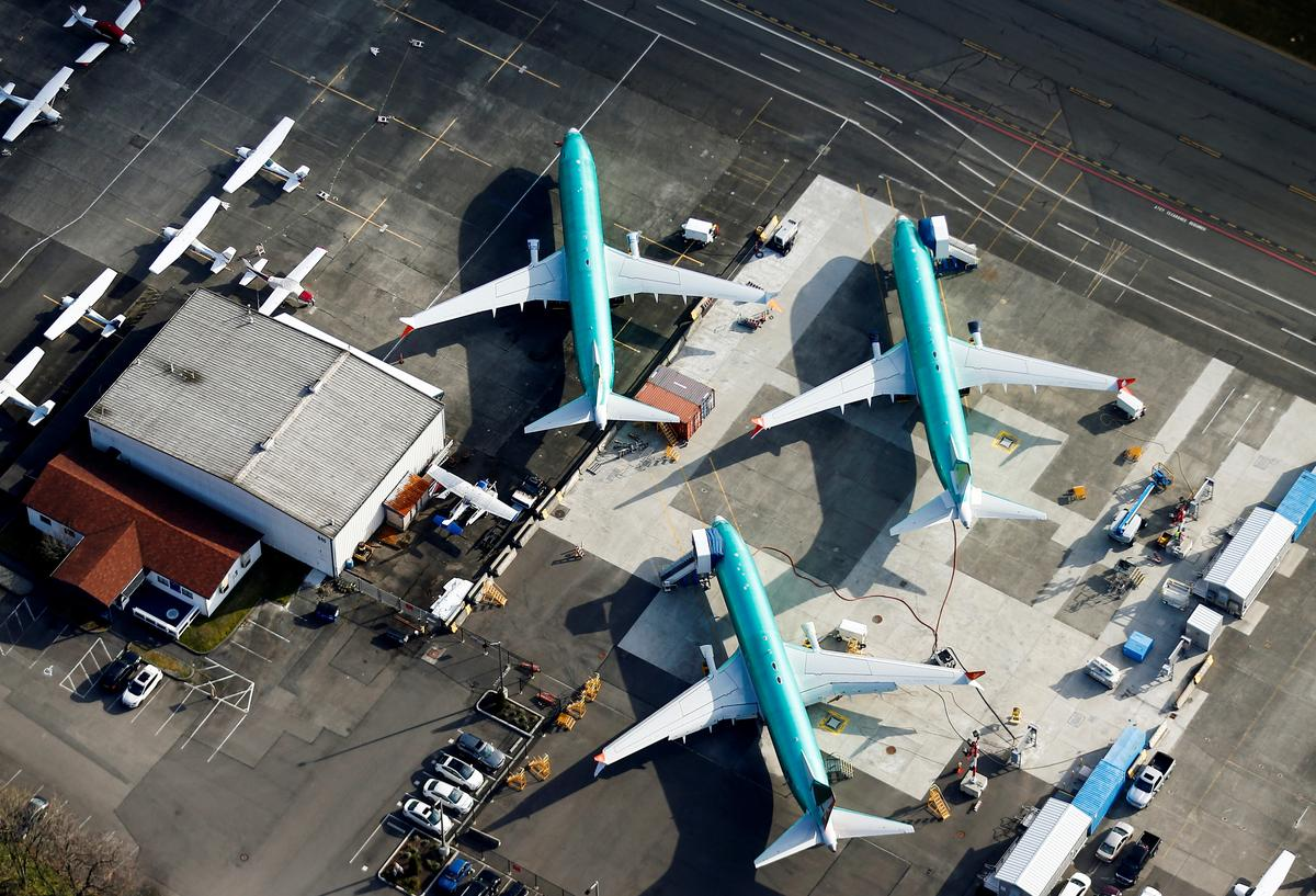 UK firm sees 737 MAX crisis wiping $12 billion off Boeing brand value