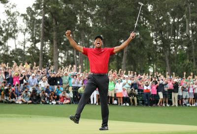 Tigers Woods wins Masters