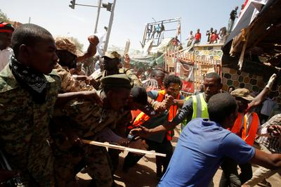 Sudan protesters demand civilian rule
