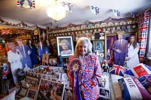 London home filled with royal memorabilia