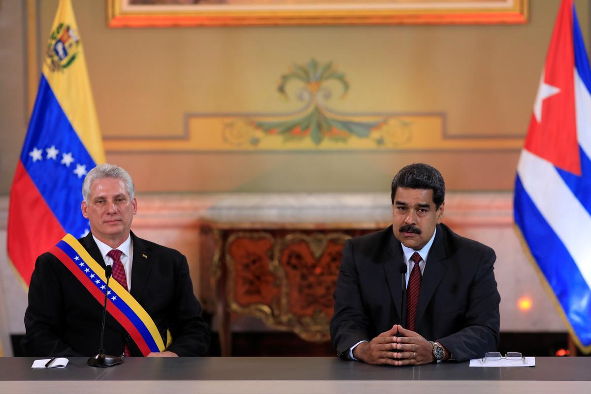 U.S. slaps new sanctions on Cuba and Venezuela to pressure Maduro
