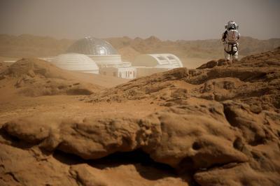 Mars in the desert