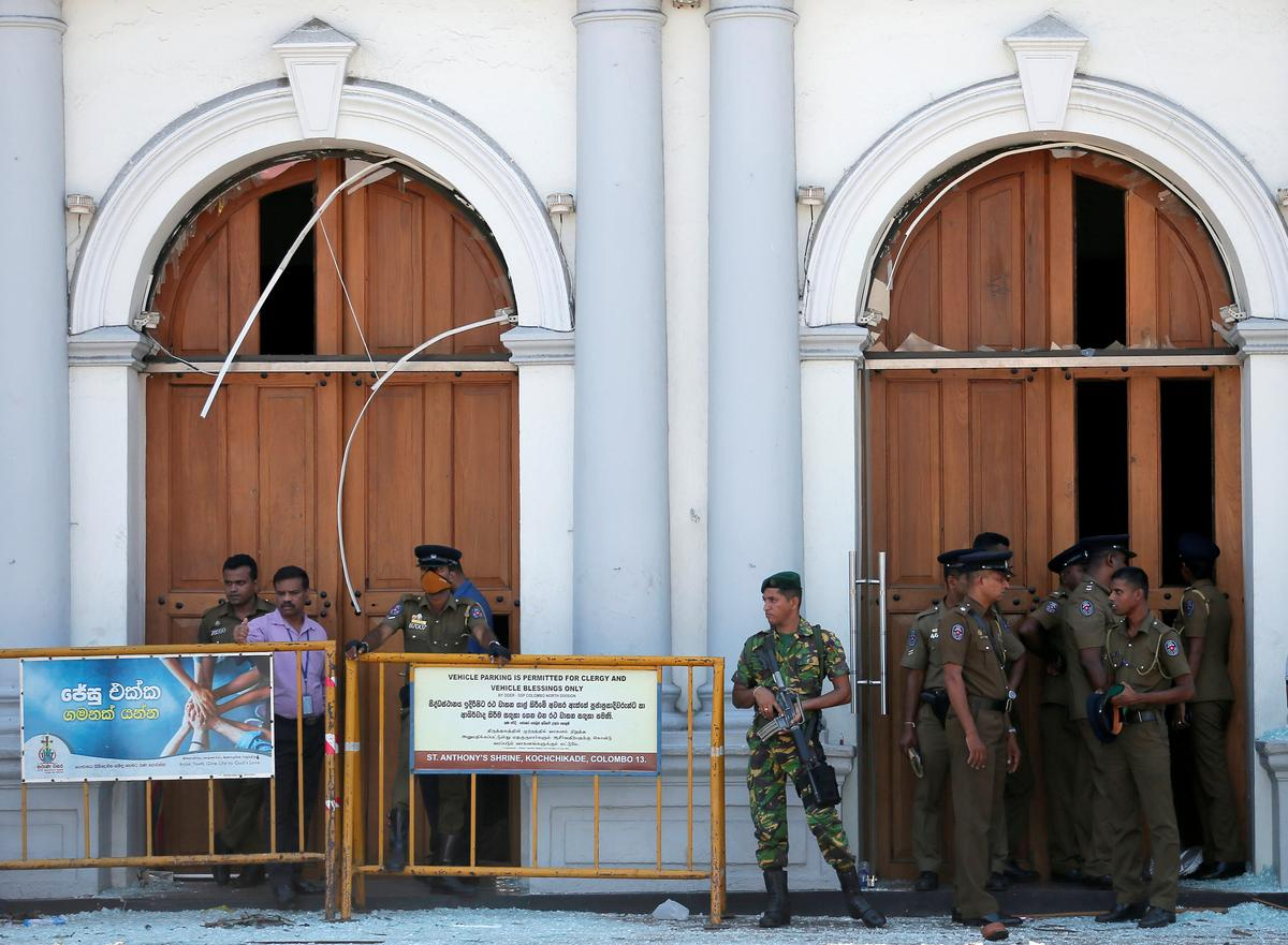Sri Lanka government declares curfew, shuts down access to major...