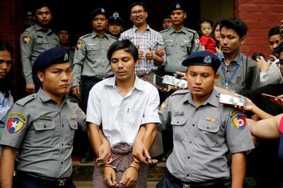 ミャンマー最高裁、ロイター記者の上告棄却 国家機密法違反