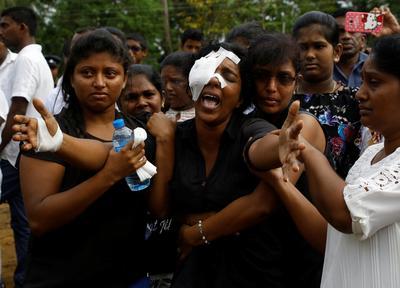 Mourning in Sri Lanka