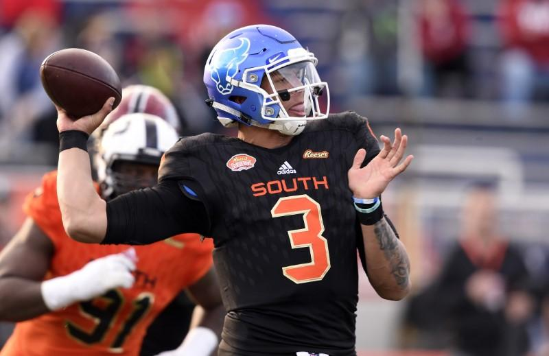 online retailer 1d7ea a5ba6 Undrafted free agent notebook: QB Jackson staying in Buffalo ...