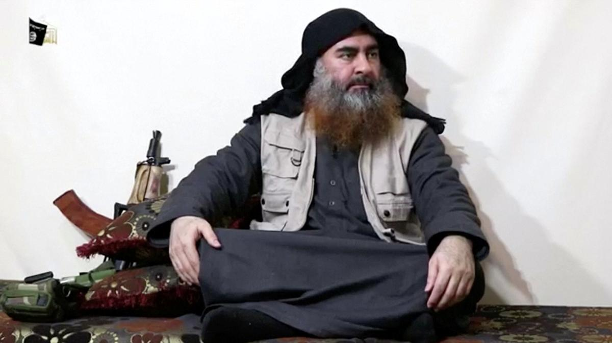 Islamic State airs video purporting to be leader al-Baghdadi