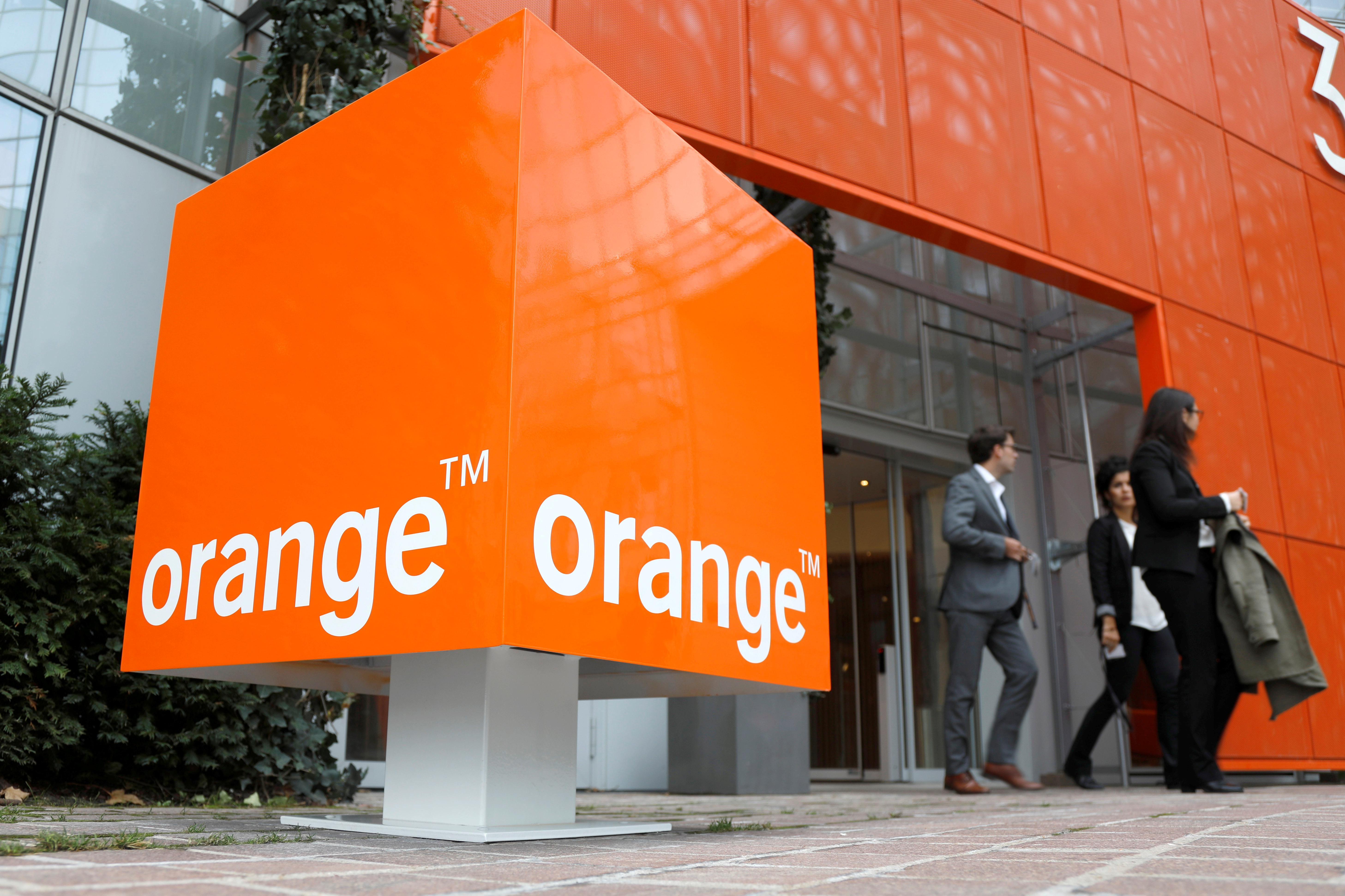 Fierce competition dents telecoms group Orange's French revenues
