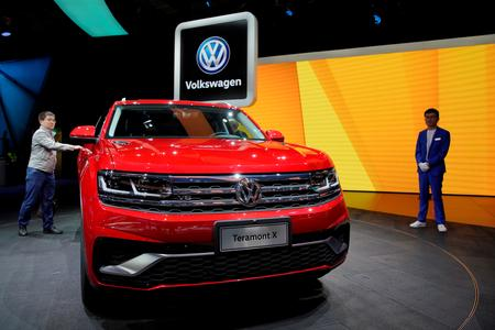 Volkswagen shrugs off 1 billion euro legal hit with higher SUV sales