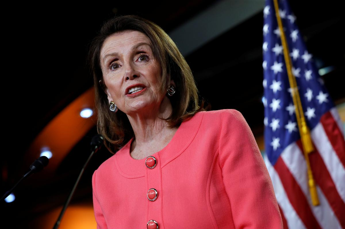 Democrats ramp up pressure on Trump as Pelosi accuses Barr of 'crime'