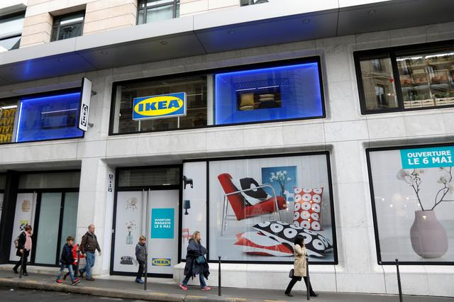 Ikea Opens Central Paris Store To Cater For Changing Tastes