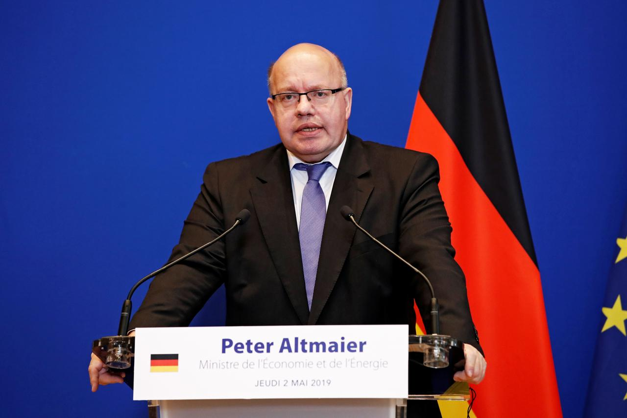 Image result for German economy minister urges United States, China to resolve trade dispute