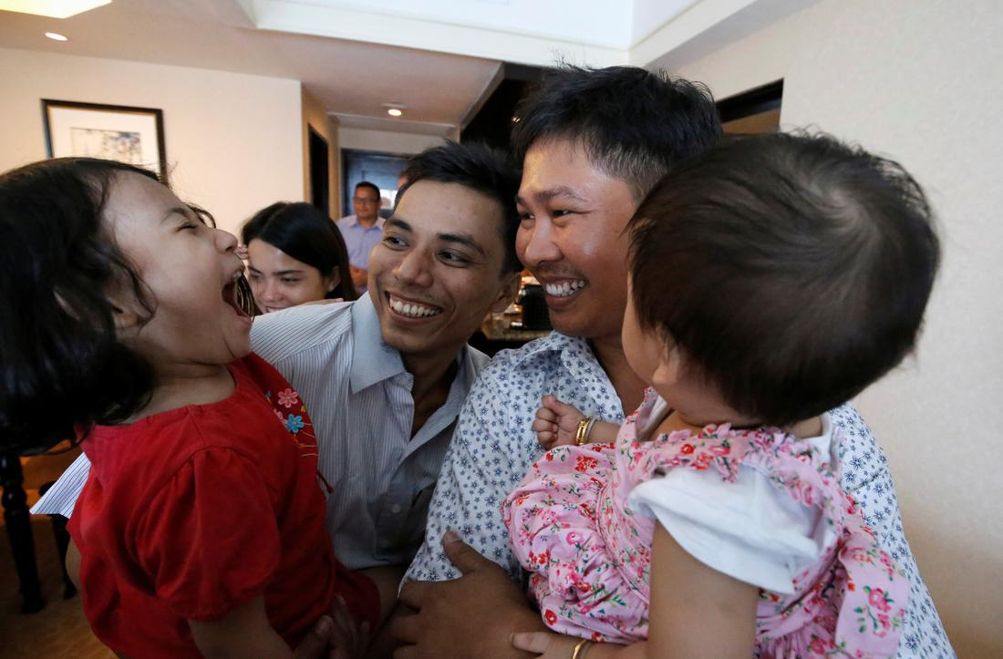 Reuters journalists freed from Myanmar prison | Reuters com