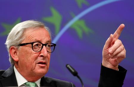 EU's Juncker say he trusts Trump on trade, needs quick U.S.-China deal