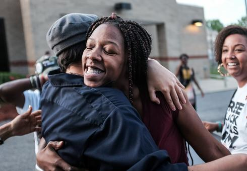 Bailing black moms out of jail before Mother's Day