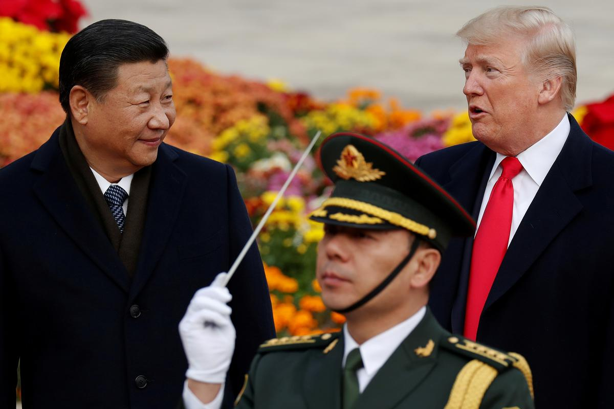 photo image Trump calls trade war with China 'little squabble,' says talks ongoing
