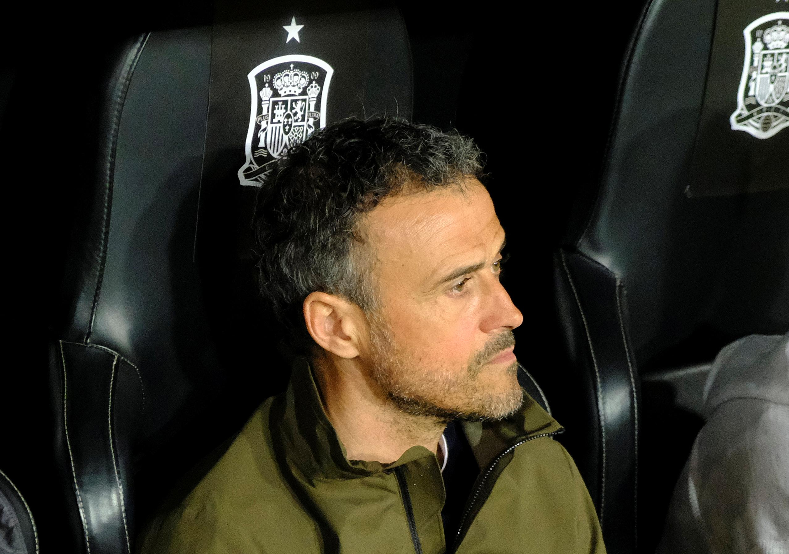 Soccer: Spain keep faith with coach Enrique despite continued absence