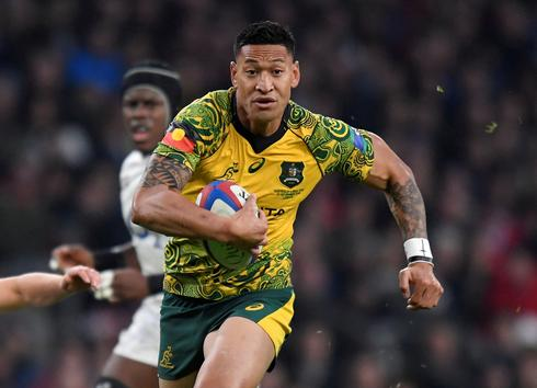 Factbox - Australian rugby union player Israel Folau