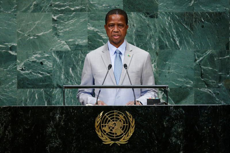 Zambia's president insists on tax changes opposed by mining firms
