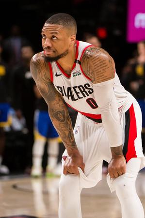 Basketball: Blazers' Lillard left in limbo by Warriors' wall of defense