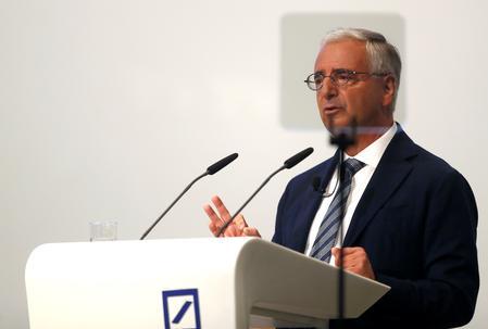 Big Deutsche Bank investors demand a succession plan for chairman - sources