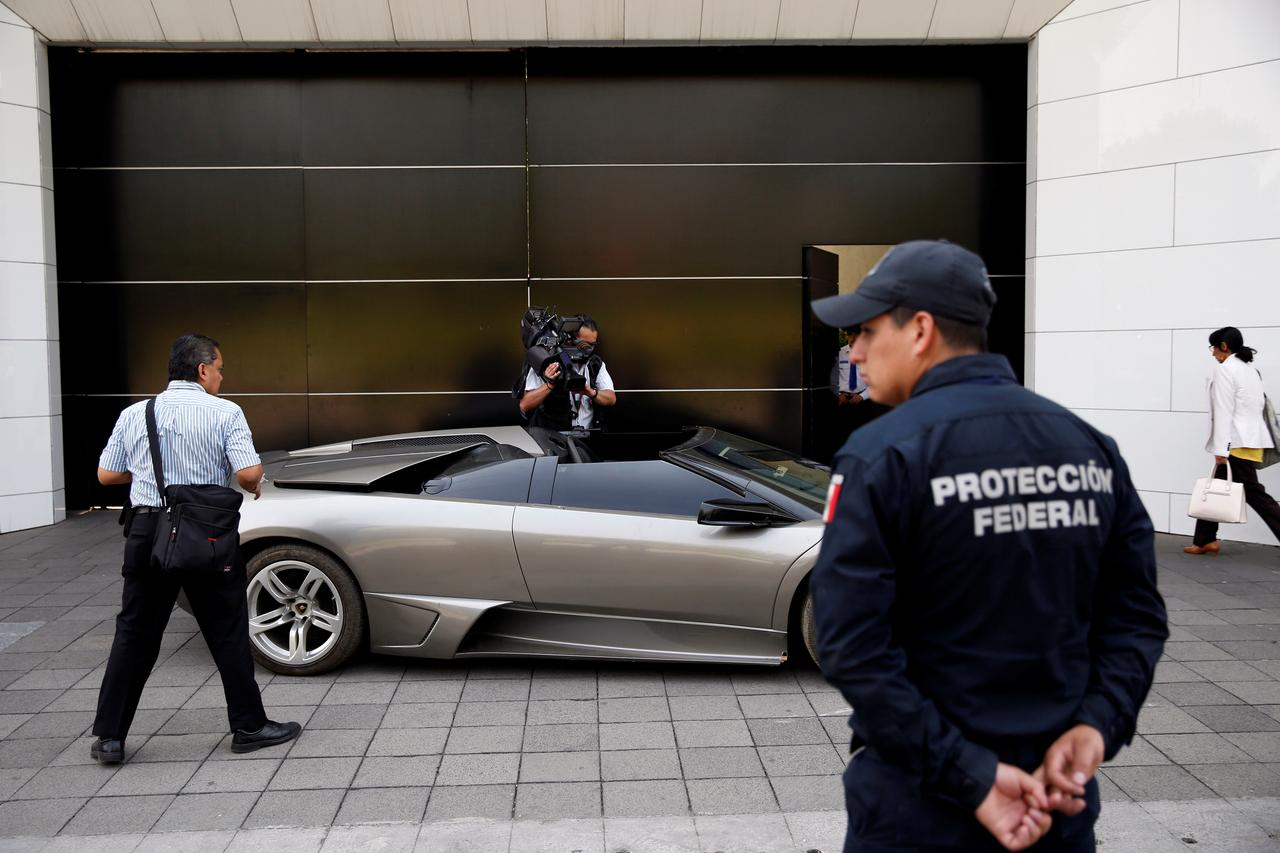 Mexico To Auction Lamborghini Other Seized Assets To Help Poor