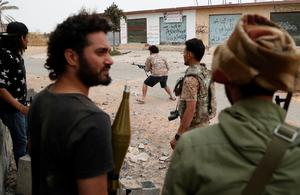 On the frontlines of Tripoli