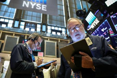 Wall St. edges higher after Trump sparks U.S.-China trade hopes