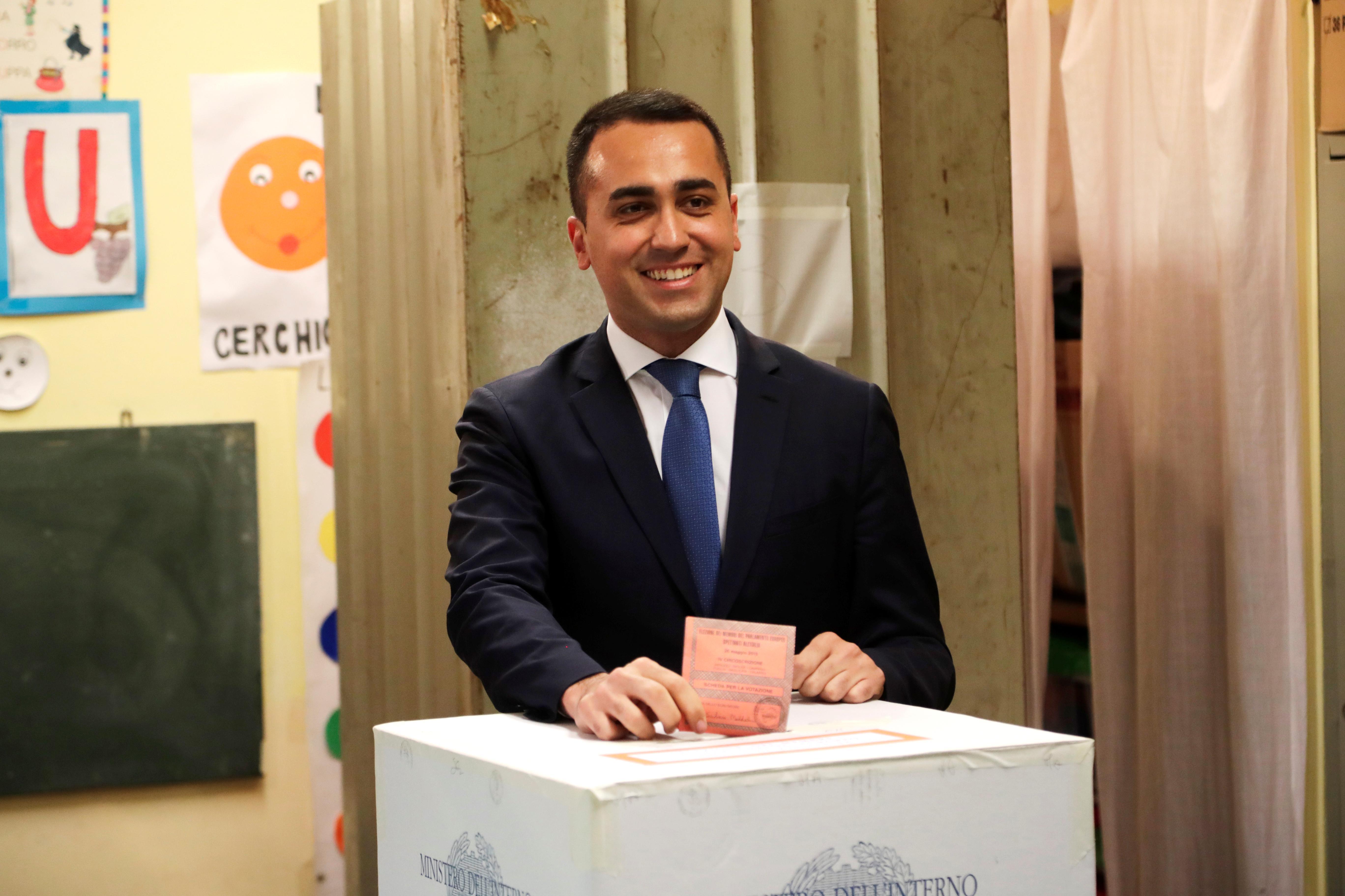 Italy's deputy PM Di Maio says EU vote will not derail government