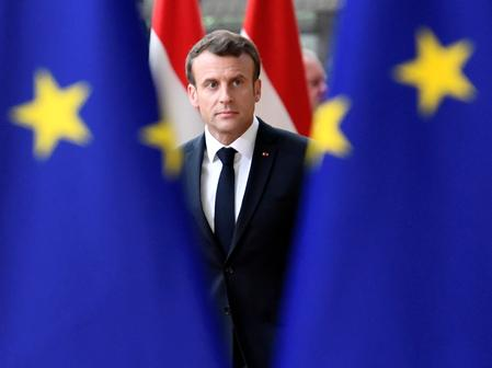 Macron says GE must keep its jobs commitments in France