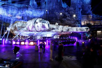 Inside Disney's new Star Wars theme park