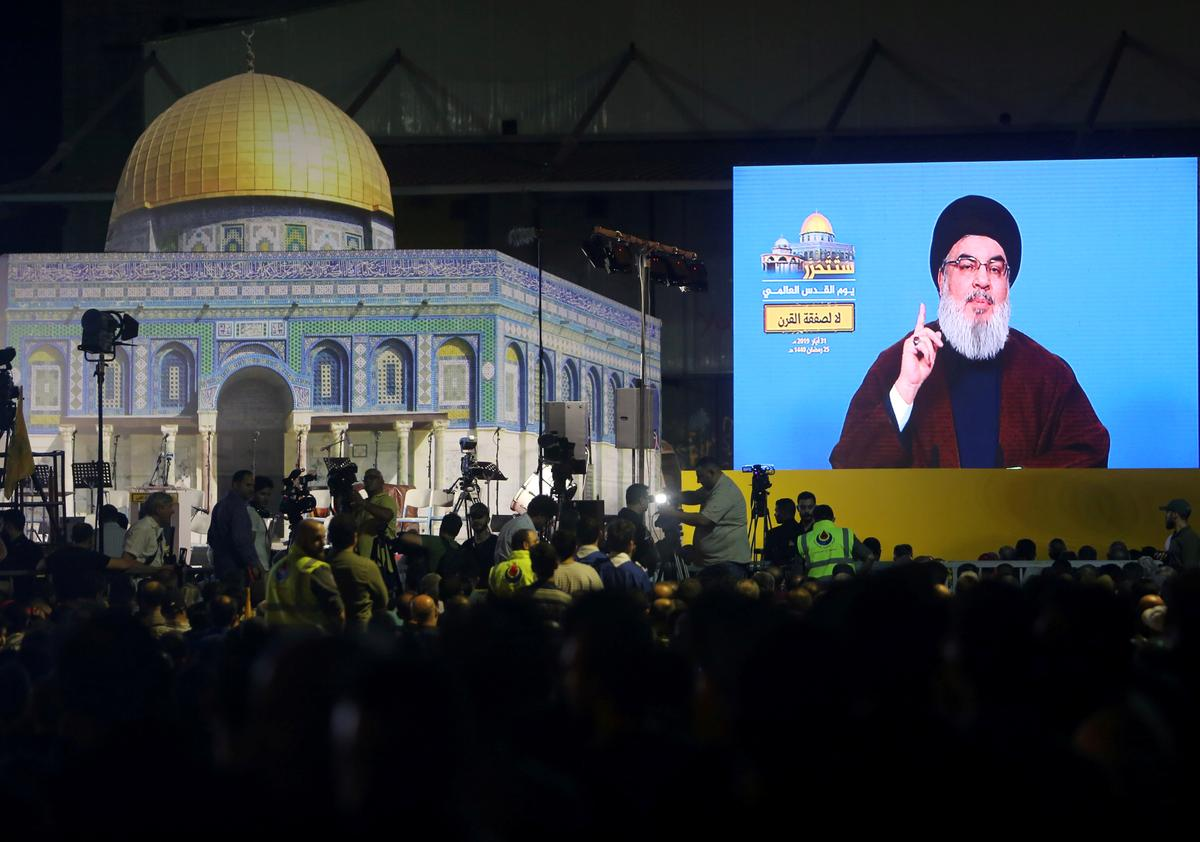 Lebanon's Hezbollah vows to confront U.S. Middle East plan