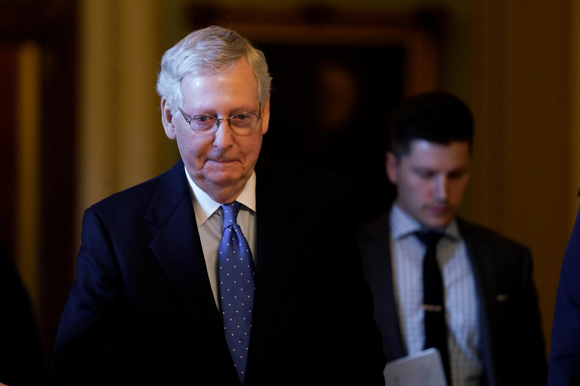 McConnell says 'not much support' for Mexico tariffs among U.S. Republicans