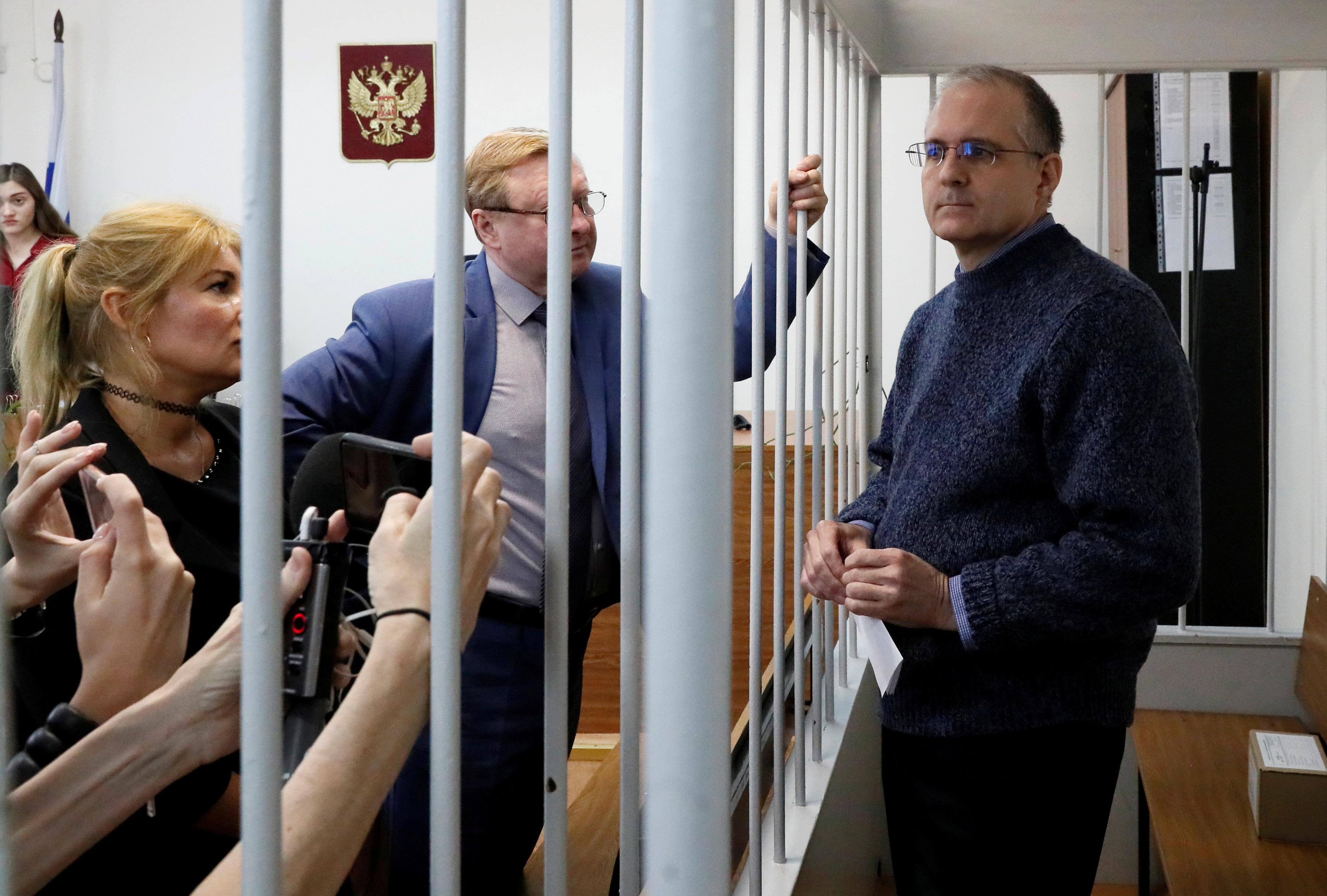 Ex-U.S. Marine held by Russia in spy case illegally isolated: activists