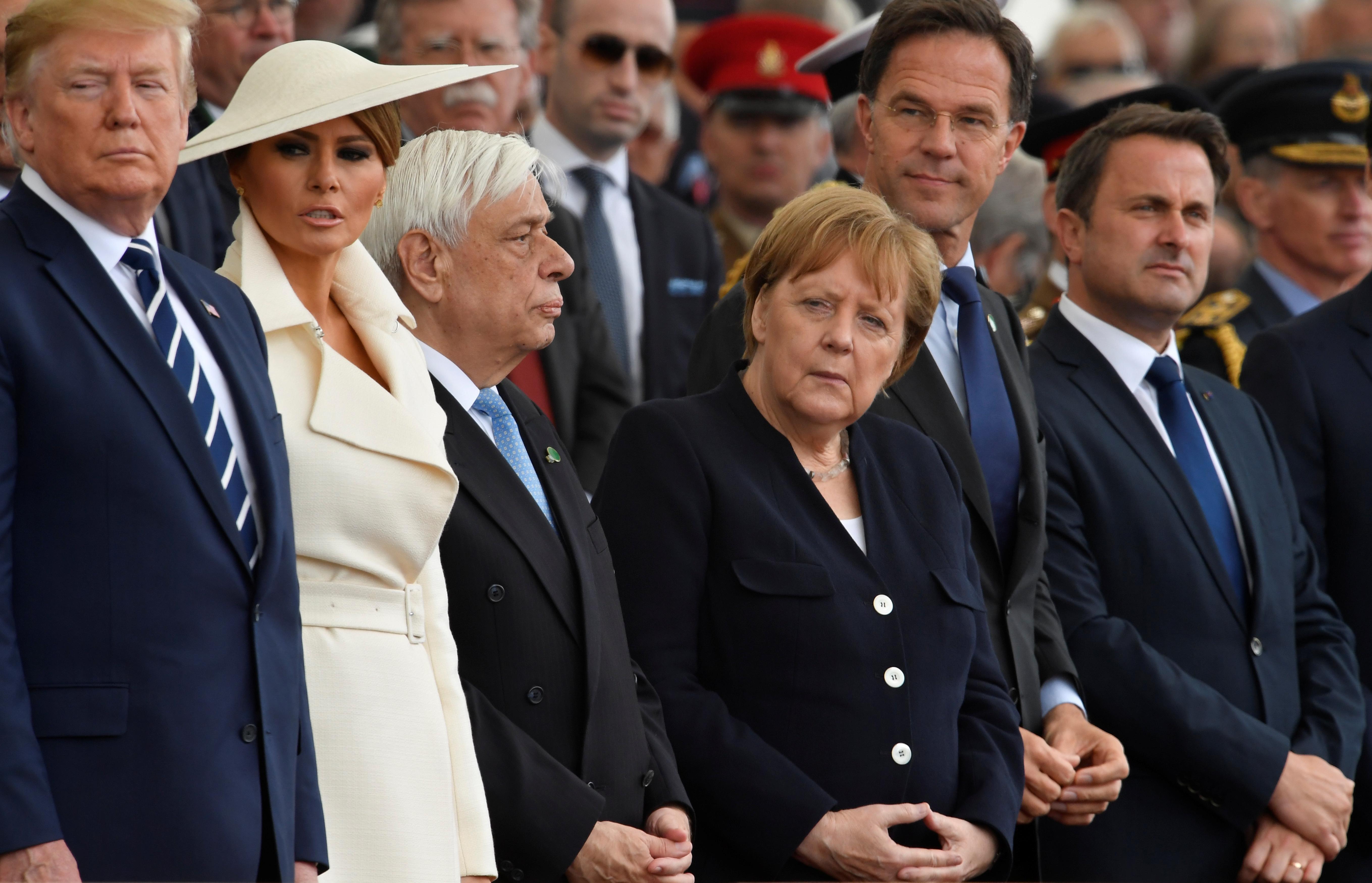 Trump and Merkel discussed Libya, West Africa during UK visit