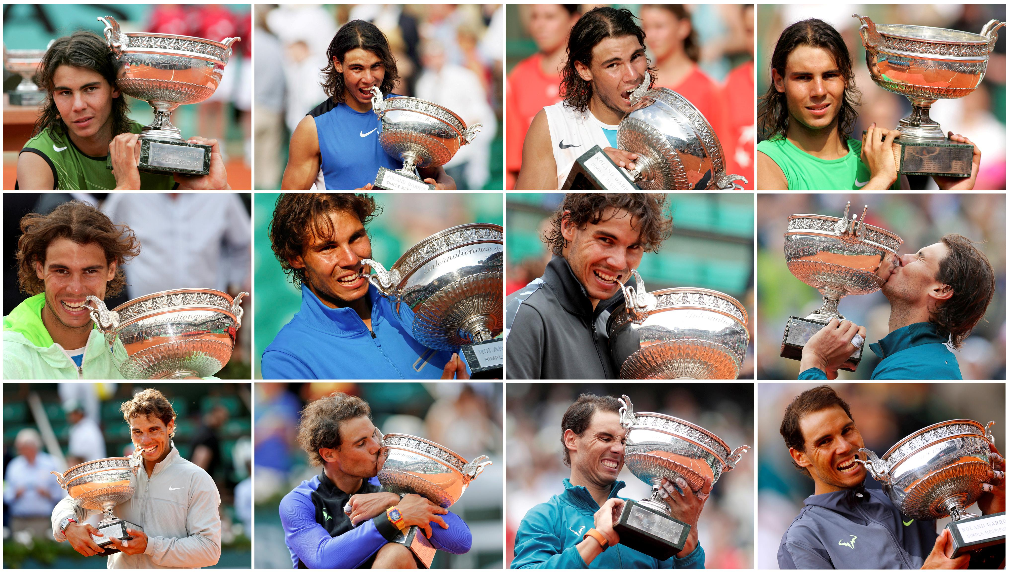 Tennis: Nadal's record-breaking 12 French Open final victories