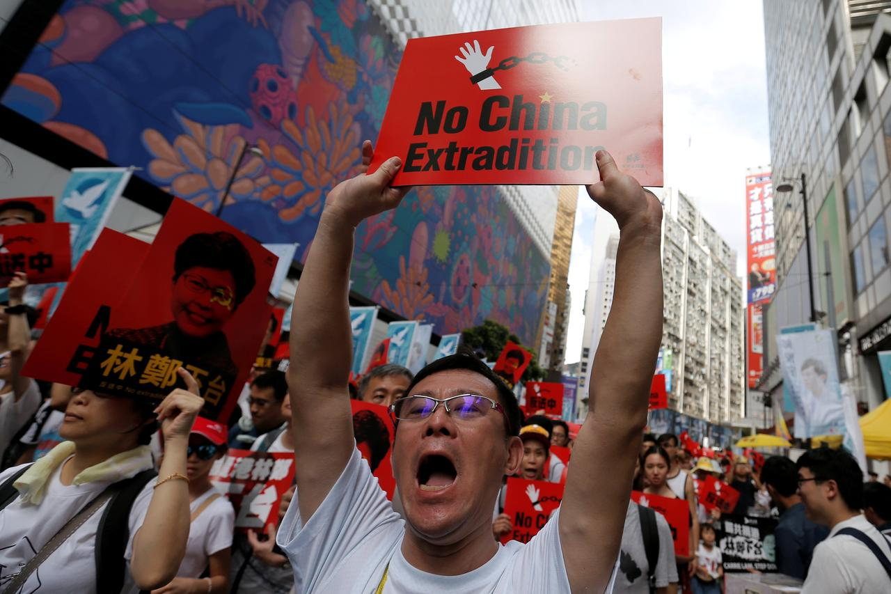 U S  warns extradition law changes may jeopardize Hong