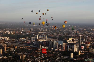 Balloons over London