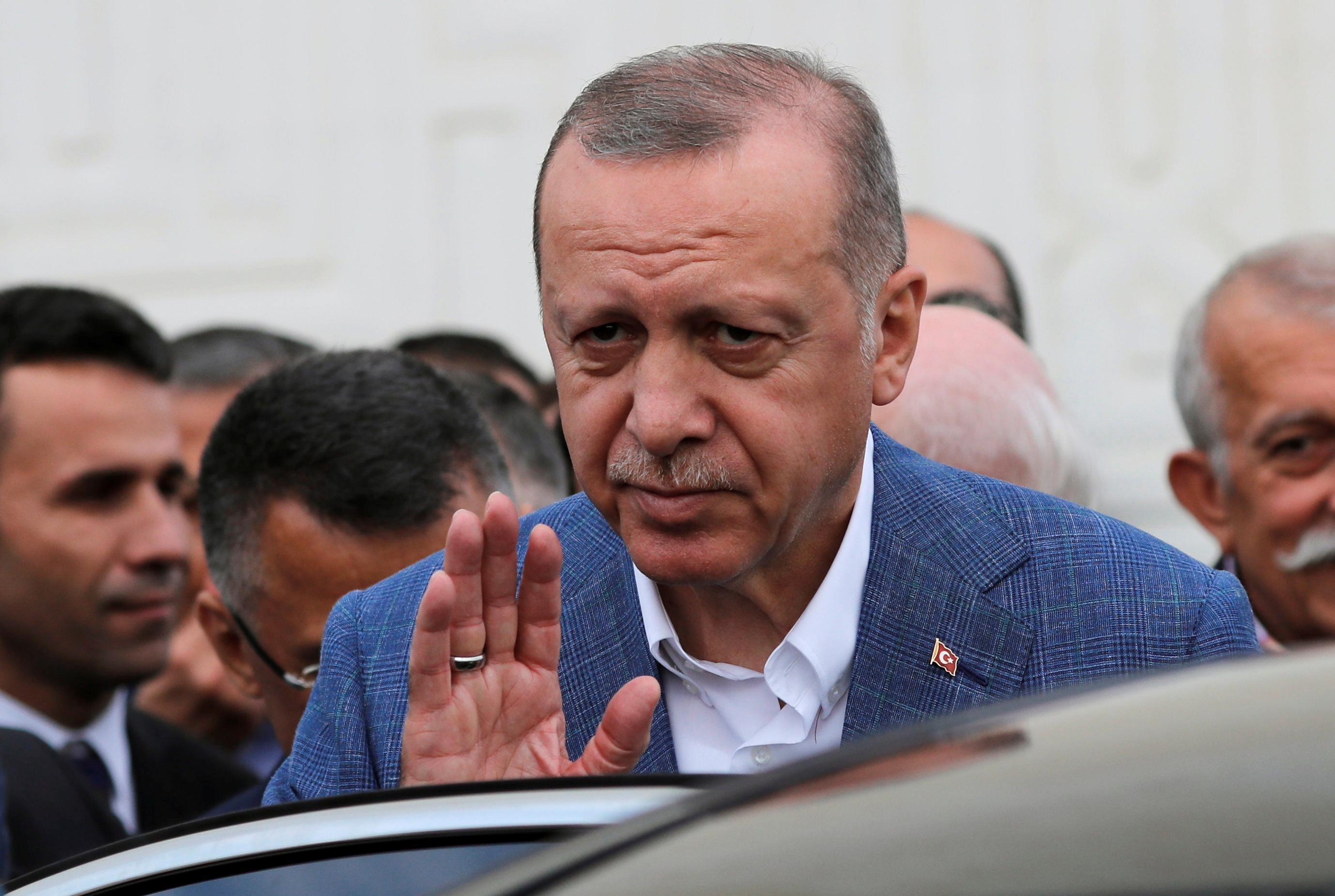 Turkey's Erdogan says Turkey has definitely bought Russian S-400 defense system
